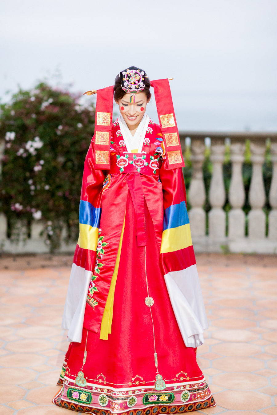 KOREAN TRADITIONAL PAEBAEK TEA CEREMONY CLOTHING