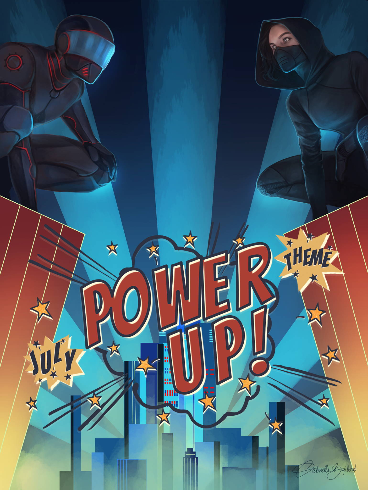 July Theme: Power UP!