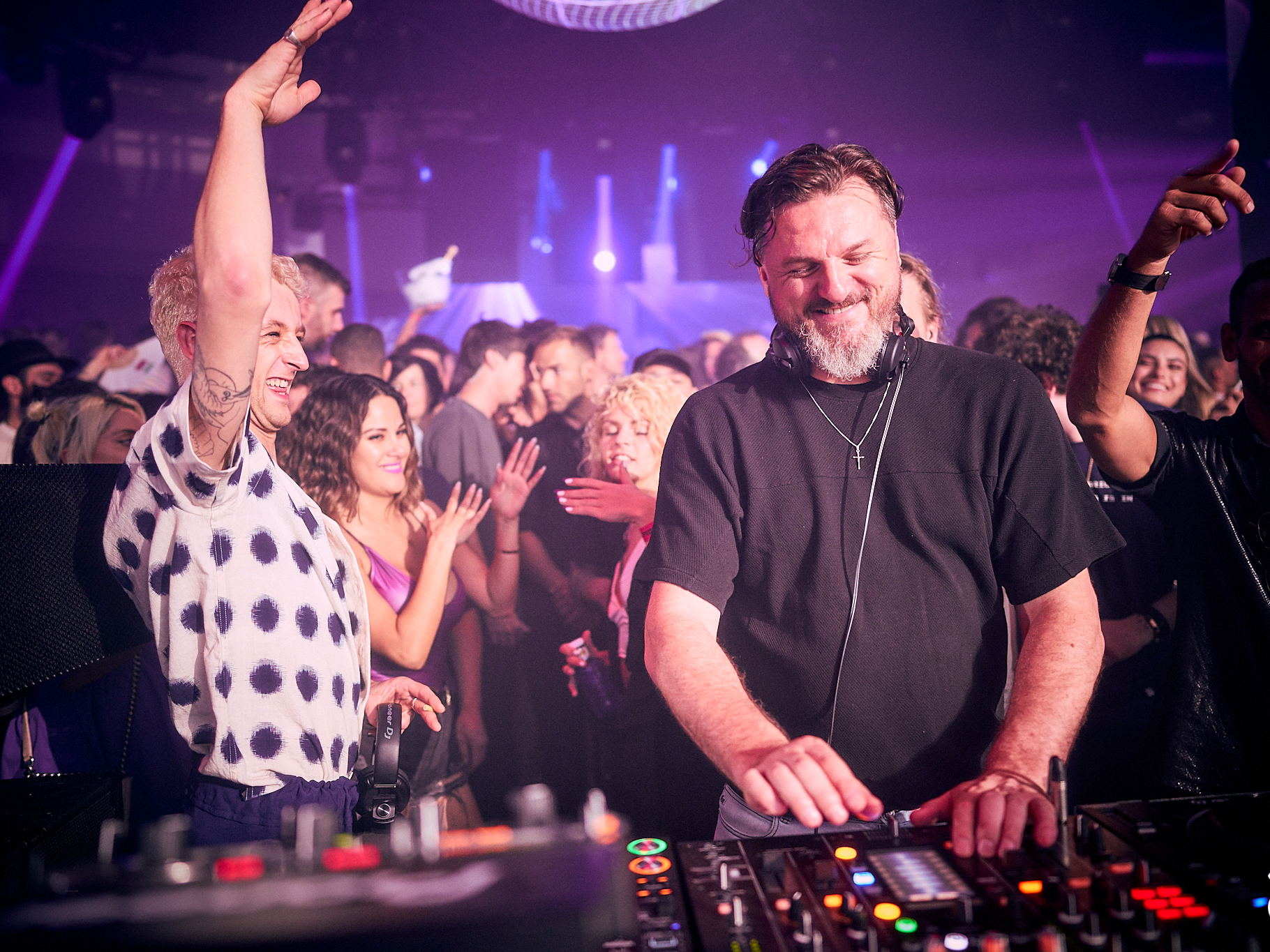 Solomun playing with denis sulta at Solomun +1
