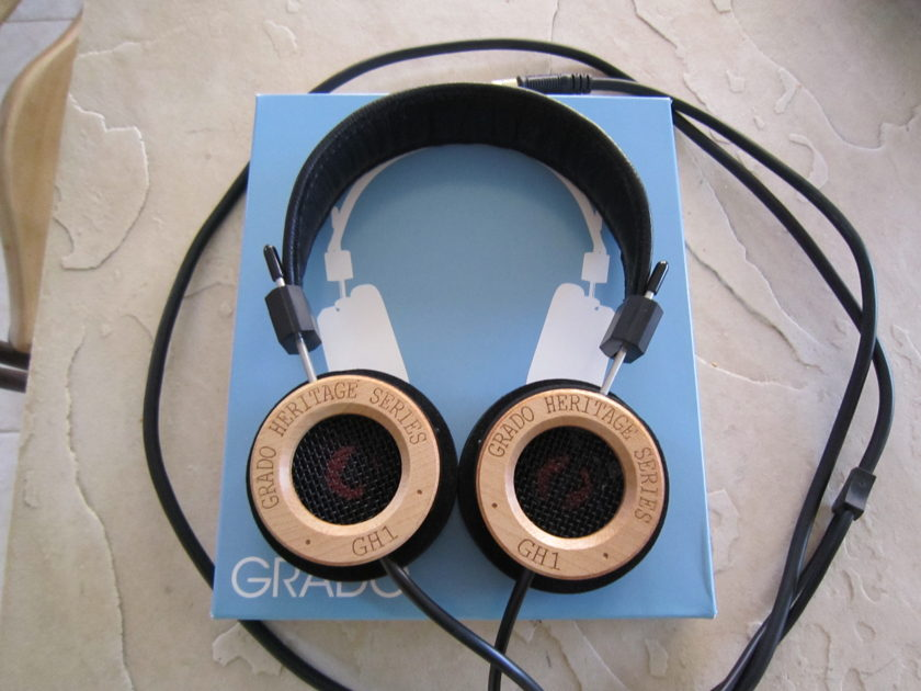 Grado GH1 Prestige Series Headphones - MINT!!