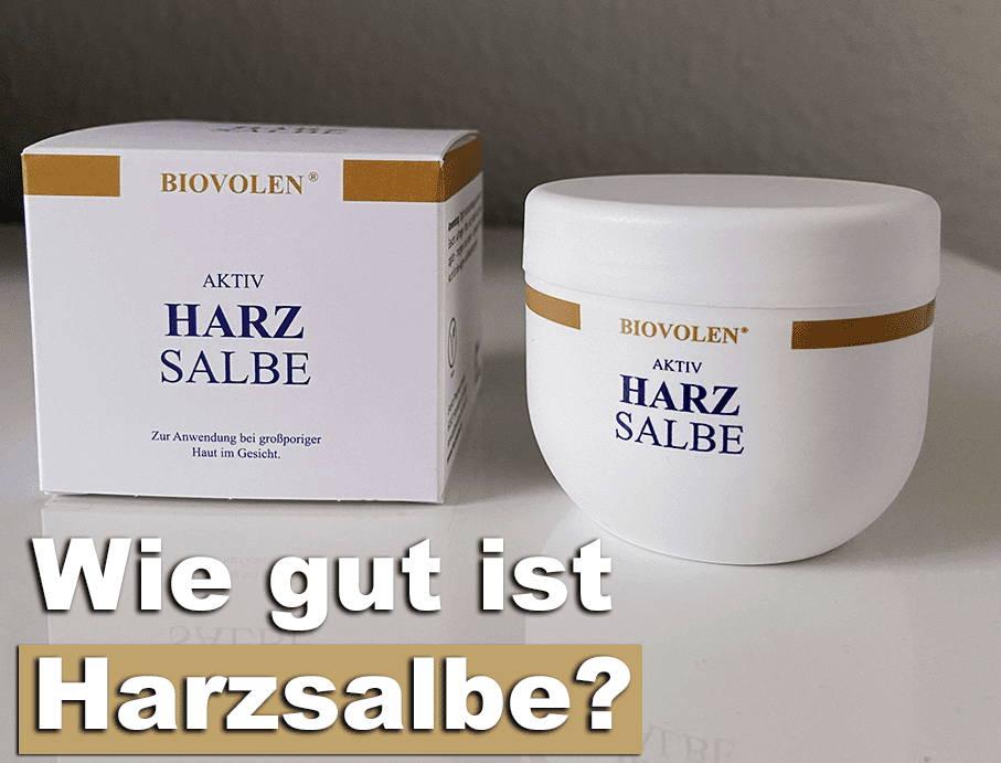 Biovolen Aktiv Harzsalbe Test