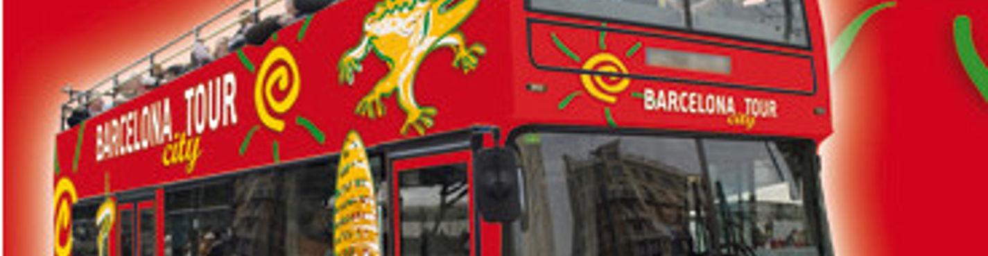 Двухэтажный автобус BARCELONA BUS TURISTIC 2 дня (только подряд)