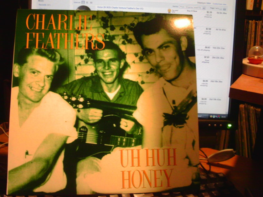 CHARLEY FEATHERS  - UH HUH HONEY NORTON LABEL
