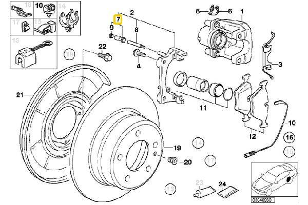 E36 Caliper Brakes 34216869617 34111157041