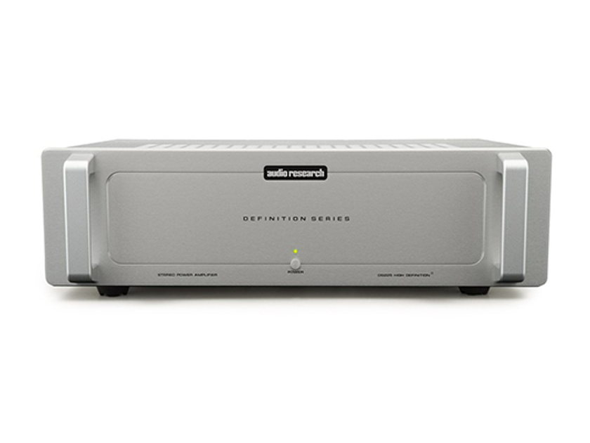 Audio Research DS225 Stereo Power Amplifier, Factory Refurbished w/Warranty