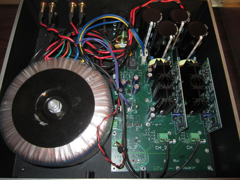 Digital Amp Co --  Cherry ULTRA Stereo Amplifier -- Super Low Price DEMO UNIT