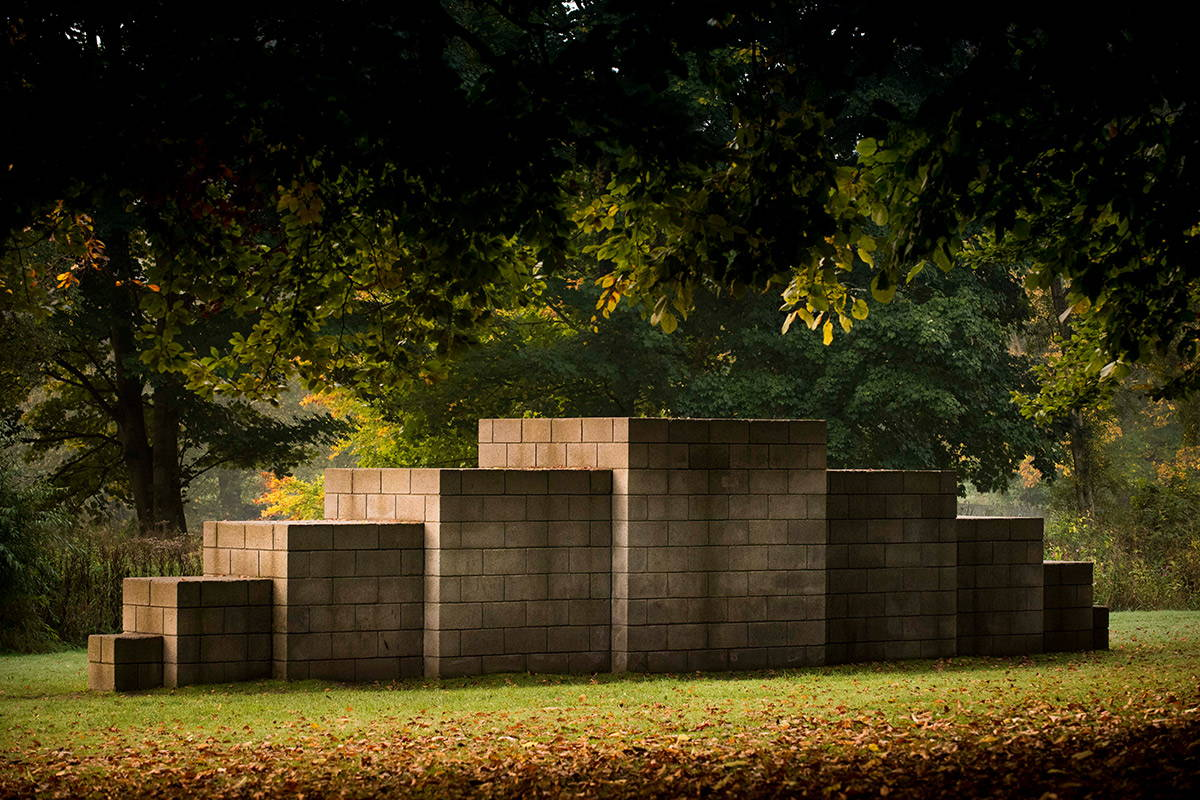Sol LeWitt, 123454321, 1993 Yorkshire Sculpture Park