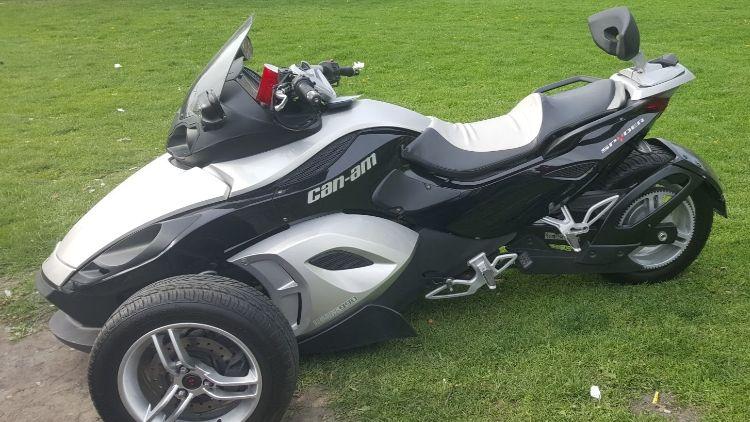 Can Am Spyder Roadster >> Can Am Spyder Roadster For Rent Near Chicago Il