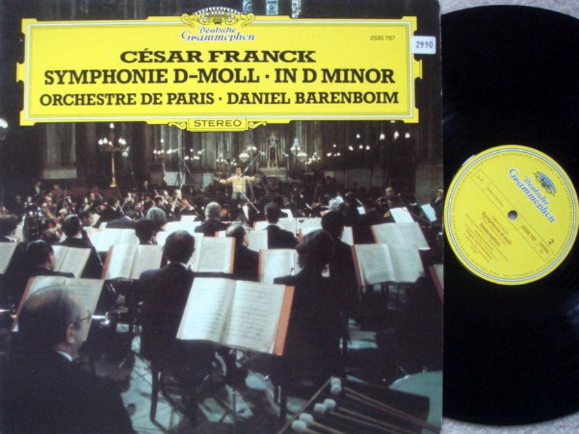 DG / DANIEL BARENBOIM,  - Franck Symphony in D Minor, NM!