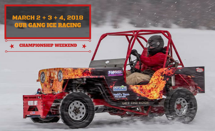 Our Gang Ice Racing 2018 - Week 6 - CANCELLED