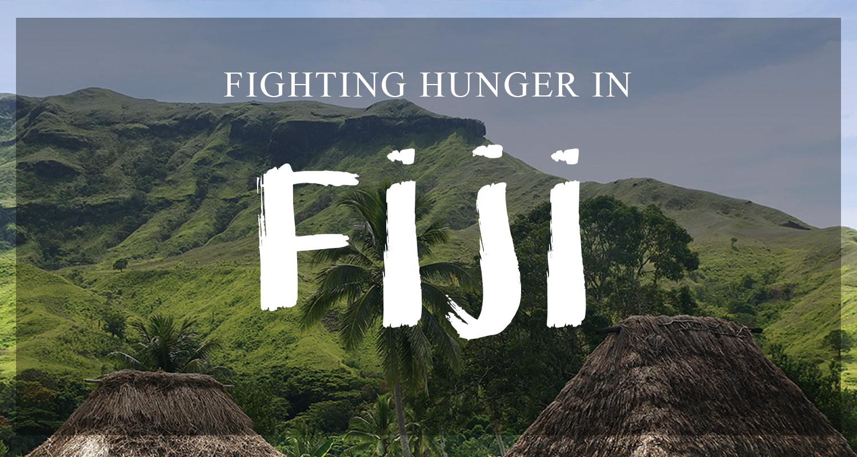 Fighting world Hunger in Fiji