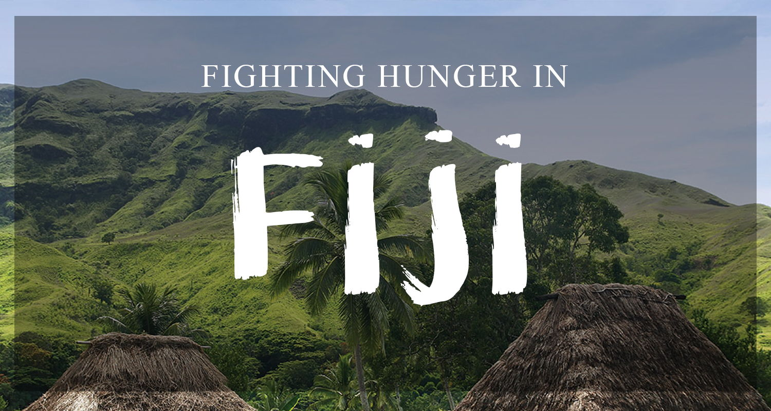 Fighting world Hunger in Fiji