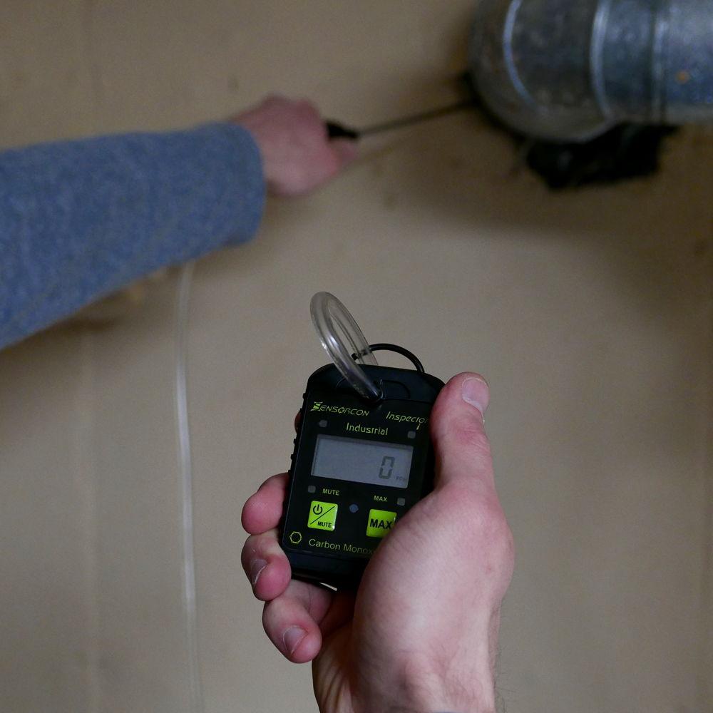 gas furnace carbon monoxide poisoning levels leak safety