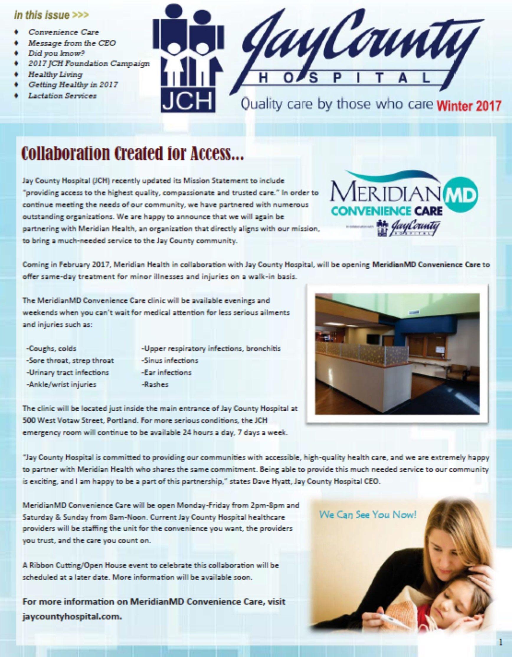 Winter 2017 Newsletter