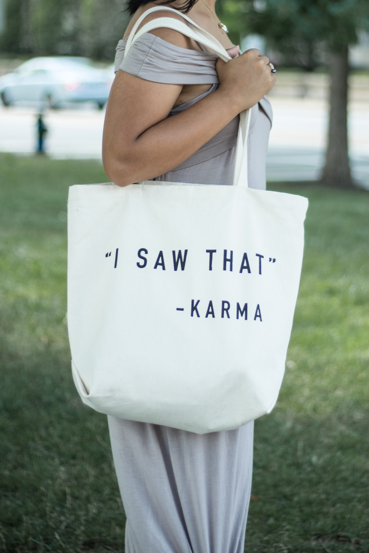 Primitive Beginnings womens summer apparel dresses travel karma canvas tote bags