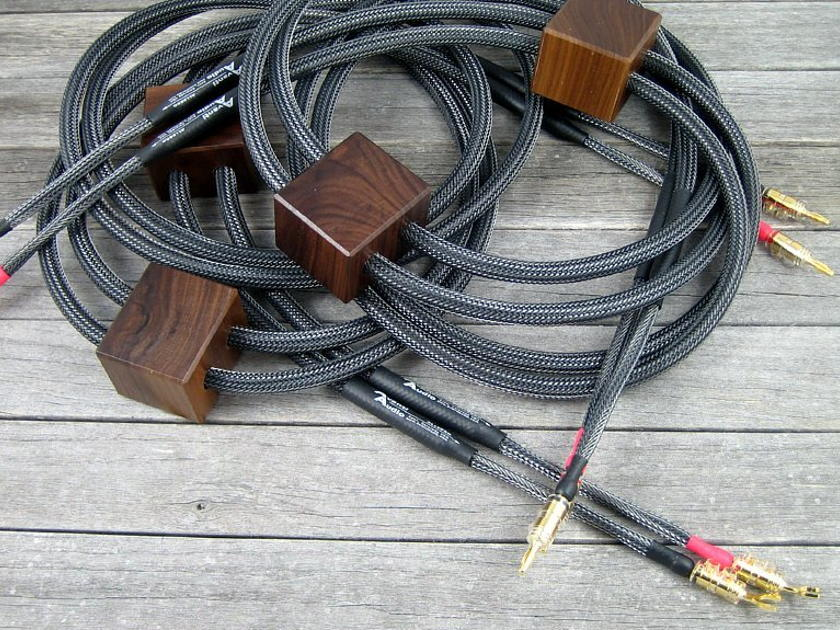 Avanti Audio Allegro Speaker Cables DEMO PAIR - 12ft with ViaBlue Spades