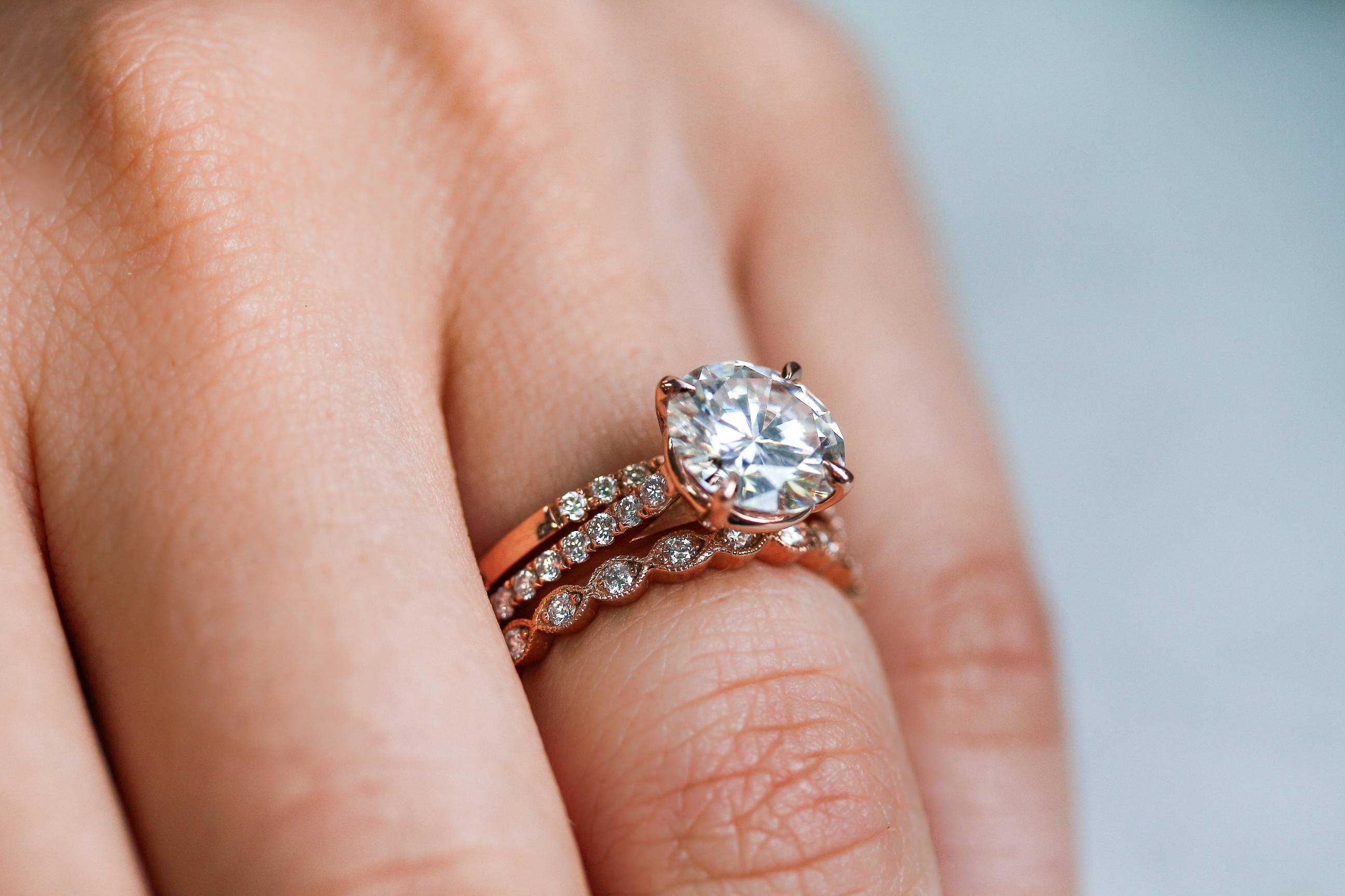 How To Wear Wedding Rings.Guide How To Wear A Wedding Ring Set