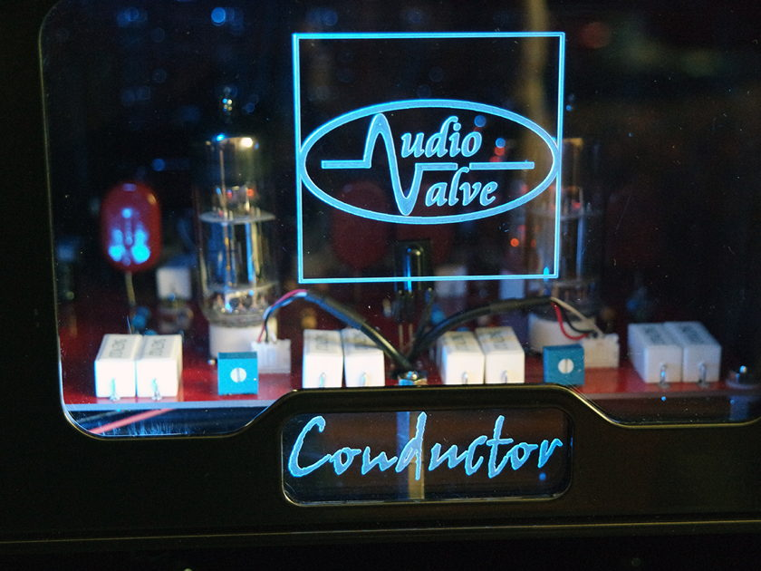 Audio Valve Conductor - Fully Balanced preamp - A Masterpiece Made in Germany
