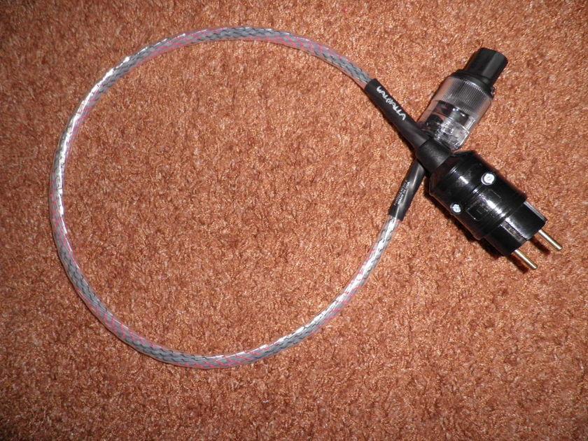 nordost valhalla power cable SCHUKO