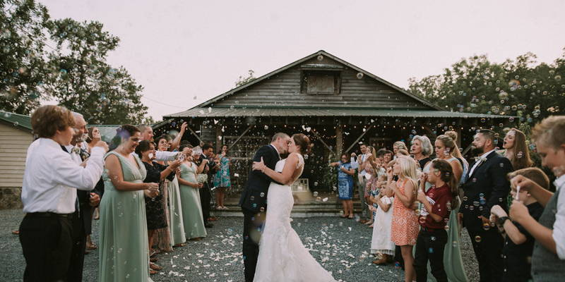 A Rustic Farm Wedding