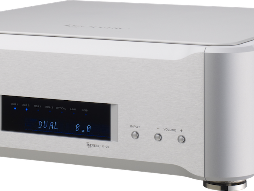 Esoteric D-02 Incredible Deal on this DA/Preamp!!