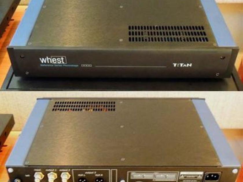 Whest Audio TITAN PHONO STAGE MINT CONDITION