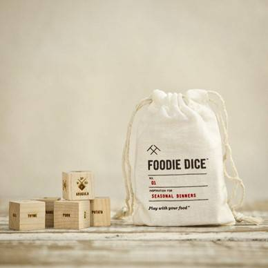 Foodie Dice Gift