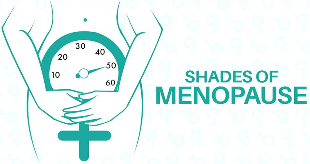 50 Shades Of Menopause Symptoms