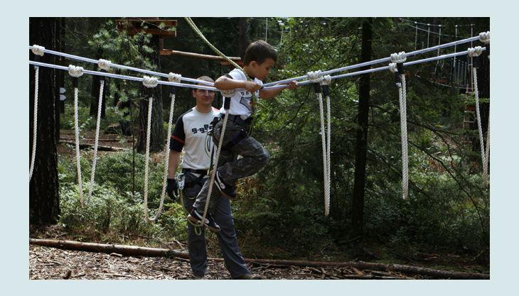 bester geburtstagde kletterwald weiherhof bäume wagen kind sicher sprunghöhe