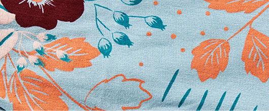 Tessa Flower fabric