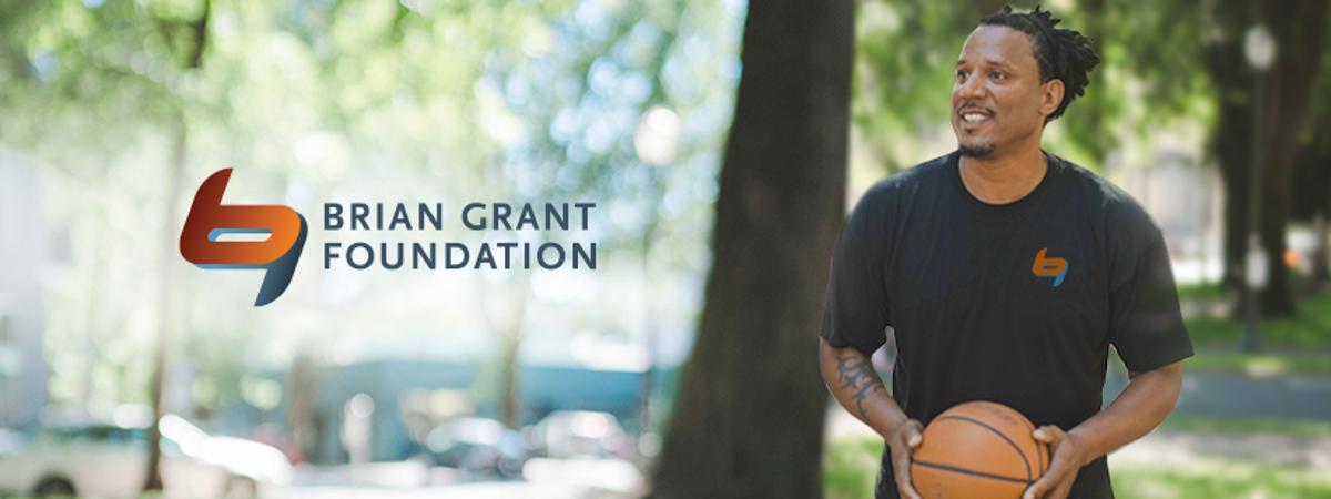 Brian Grant Foundation banner