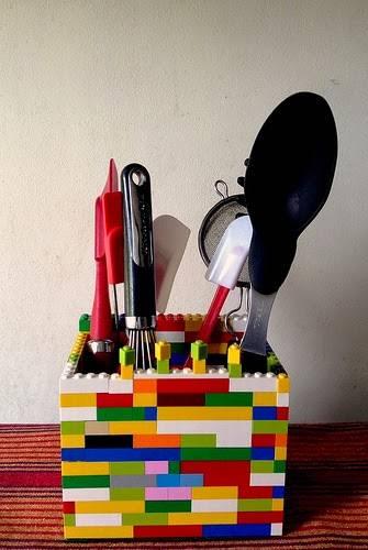 LEGO kitchen Utensils holder