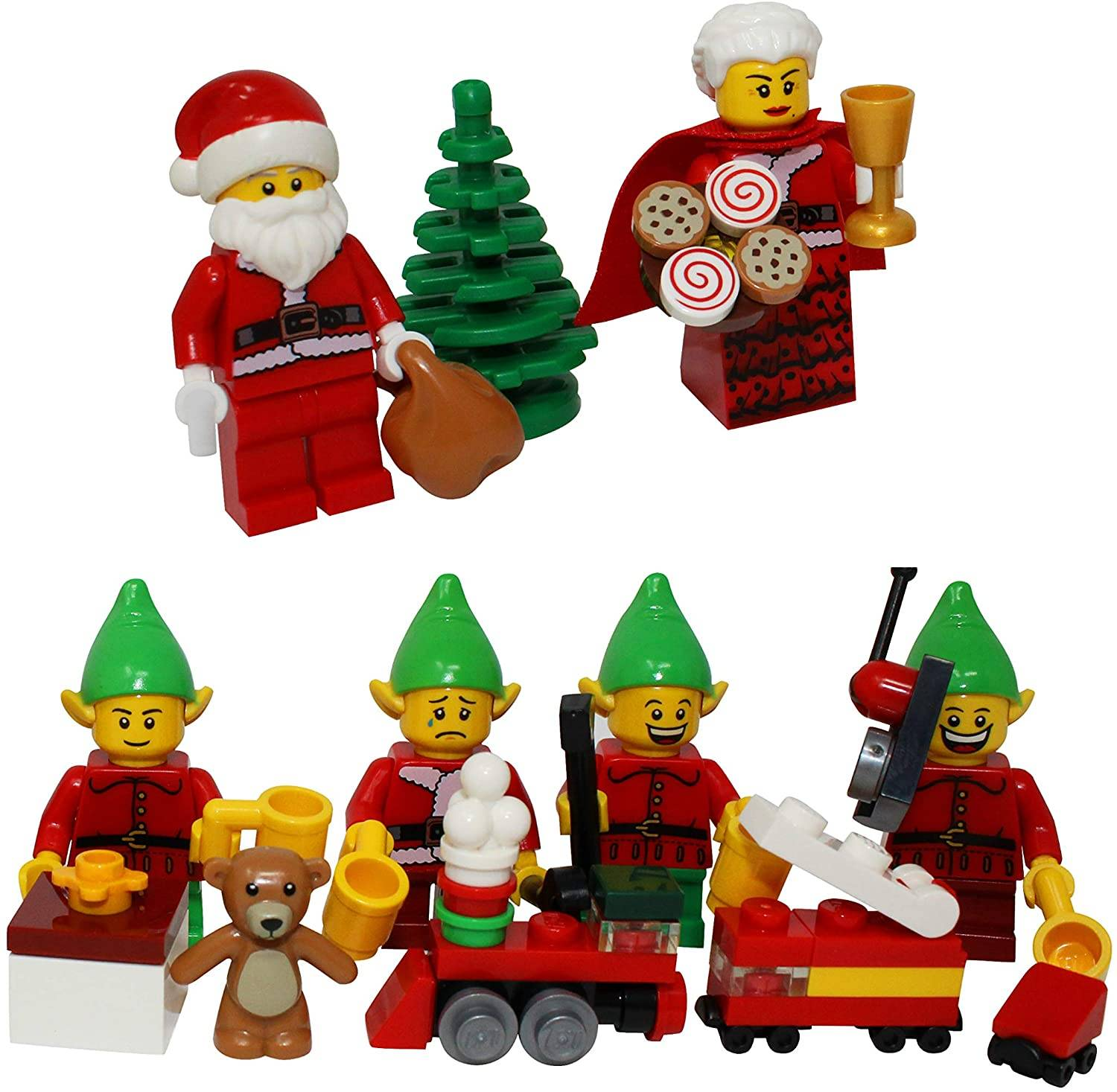 Lego Christmas with Santa