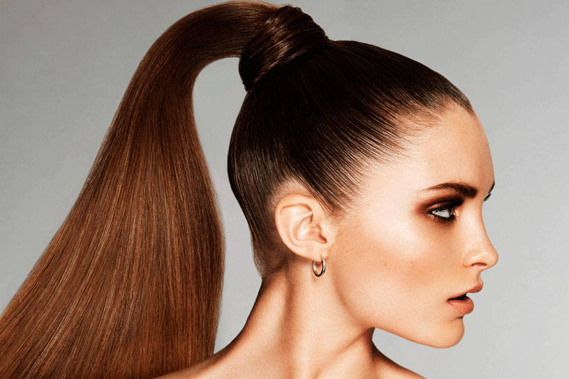 Ponytail hair extension for girls