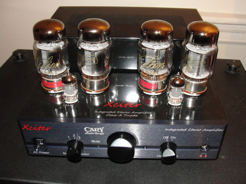 Cary Audio Xciter  Integrated Amplifier Black Finish