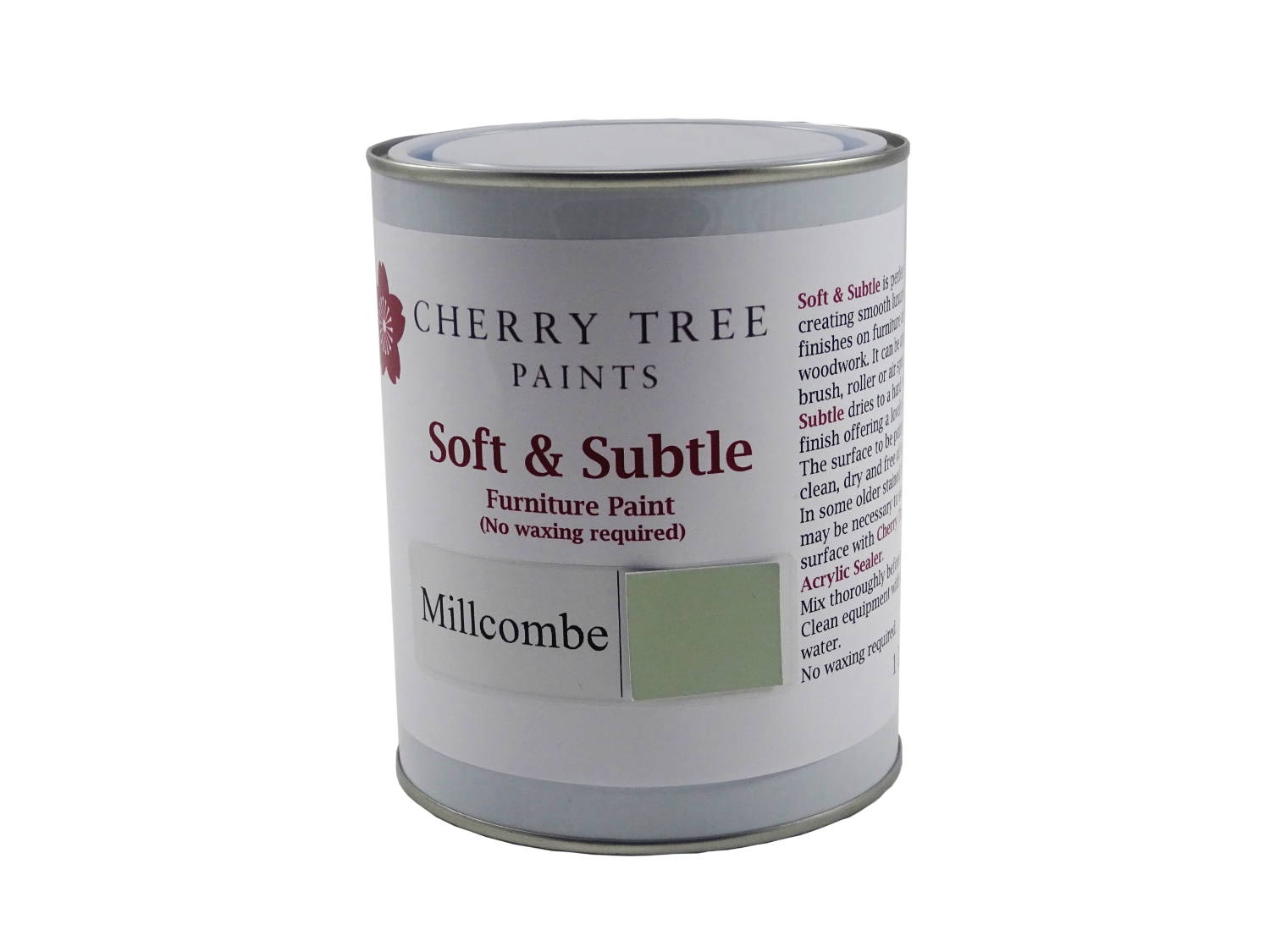 Millcombe Green Soft and Subtle Paint