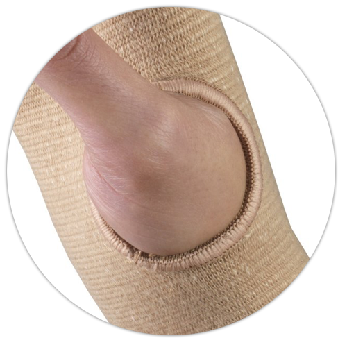 CLOSE UP OF THUMB IN SUPPORT