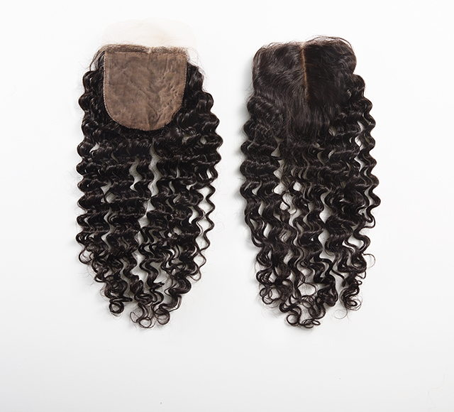 Curly Silk Closure Mayvenn
