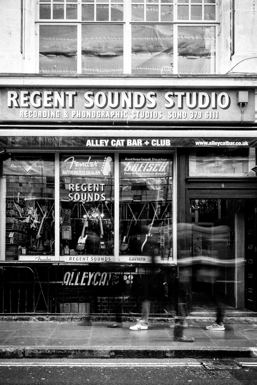 Regent Sounds Guitar Shop Denmark Street London
