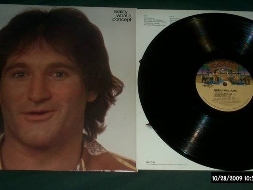 Robin Williams - Promo Lp Reality. what a concept lp nm