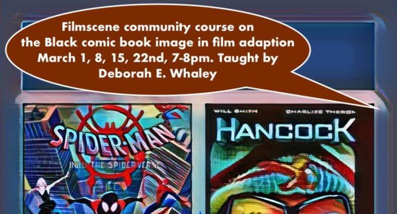 FilmScene 101: The Black Image in Comics