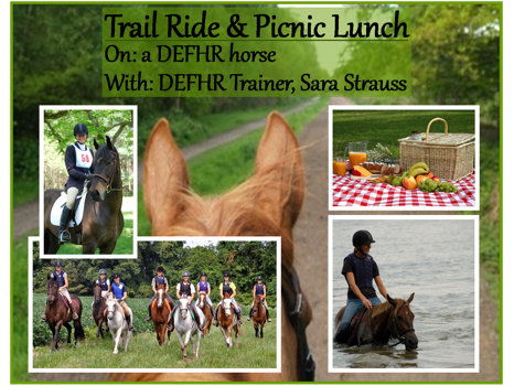 Trail Ride & Picnic with DEFHR