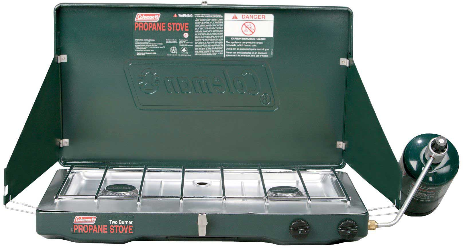 Coleman Classic Propane Stove Review Slant