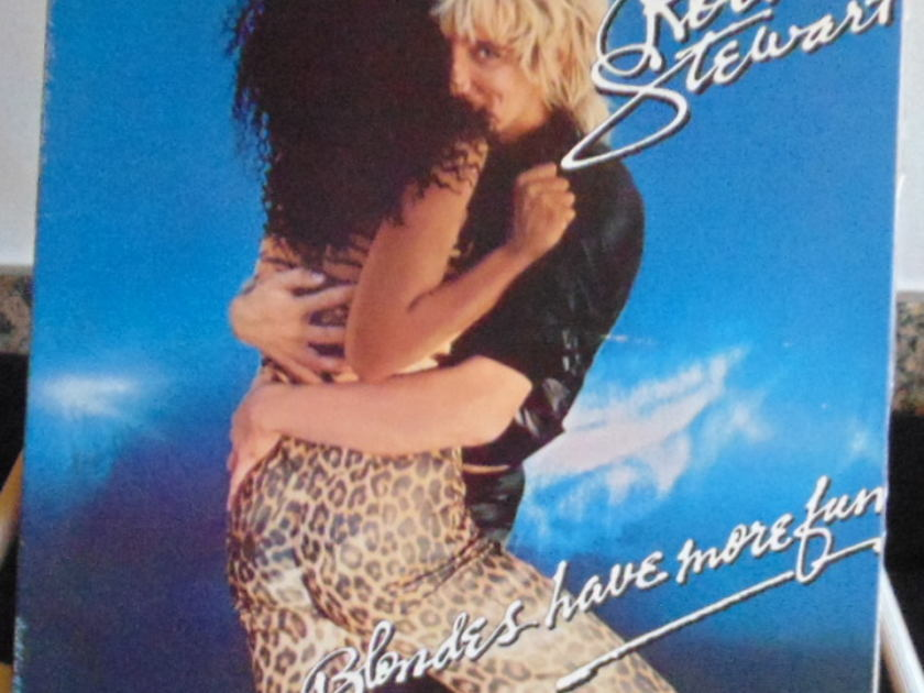 Rod Stewart - Blondes Have More Fun Near Mint