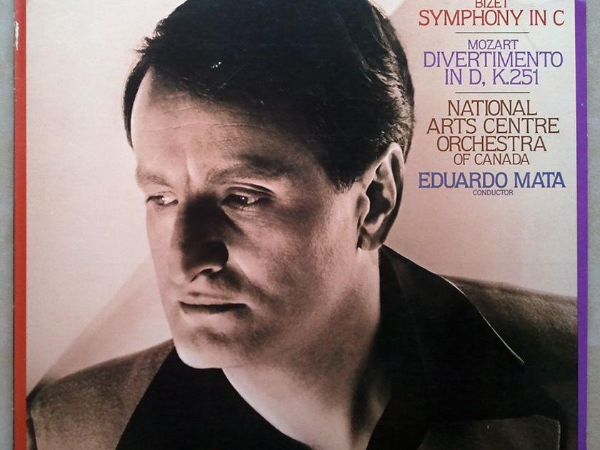 RCA Digital/Mata/Bizet: - Symphony In C, Mozart Divertimento D Major / NM / Promotional copy