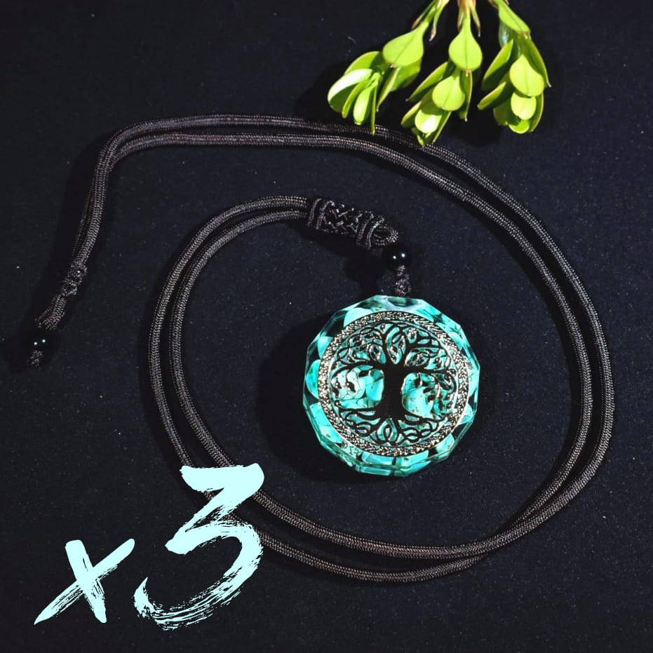 real orgonite necklace, pendant orgonite emf, orgonite necklace 5g