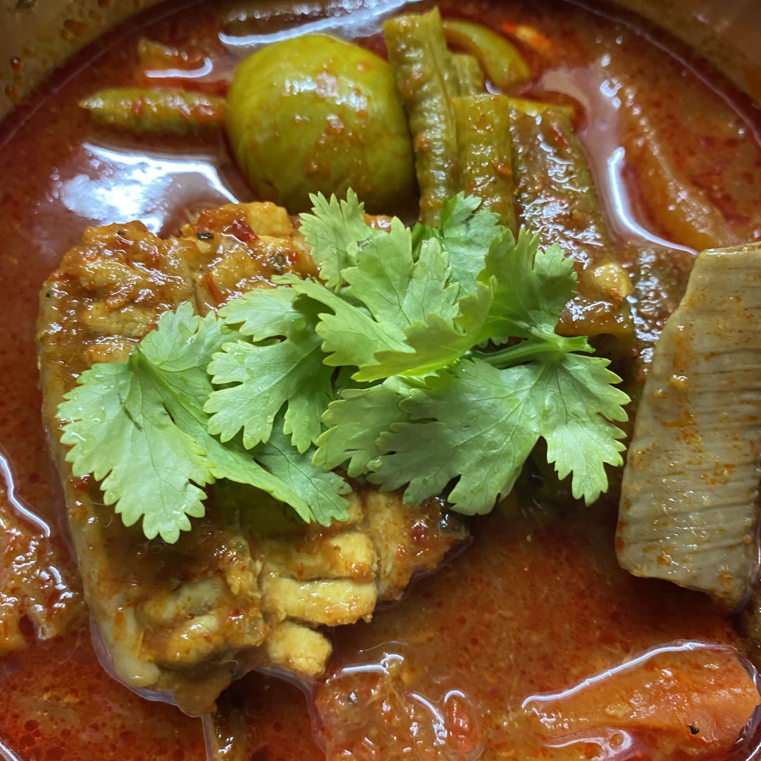 Assam Pedas using stingray