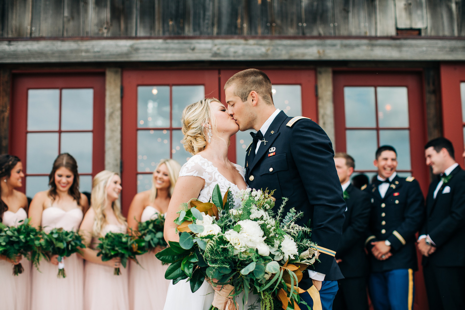 A Magical Military Wedding