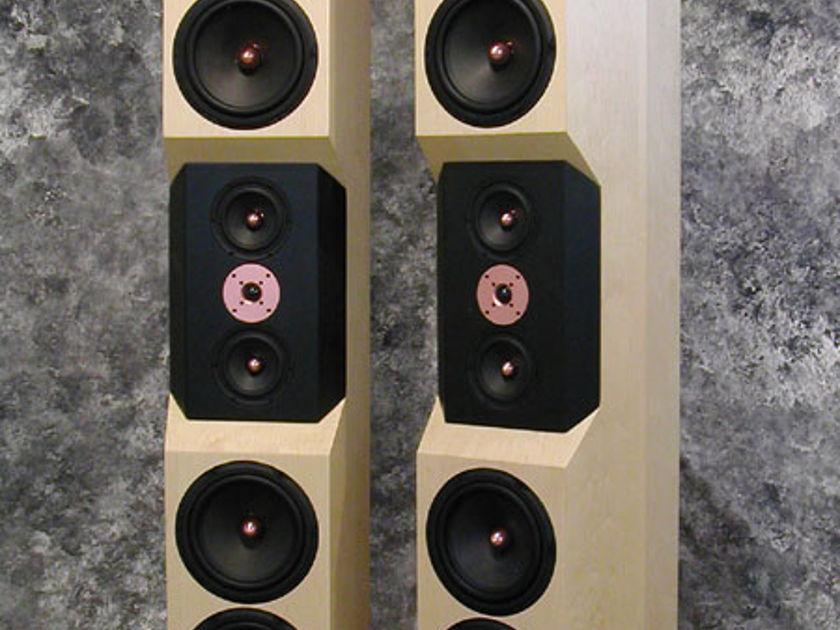 Tyler Acoustics D10's in maple! warranty!