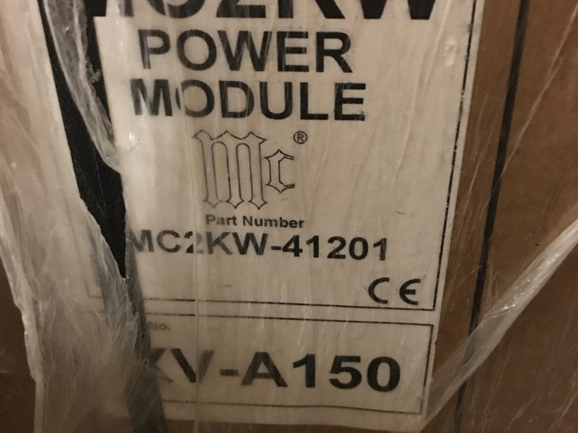 McIntosh MC-2KW 2000 Watt Mono Block Amplifier Pair - MINT